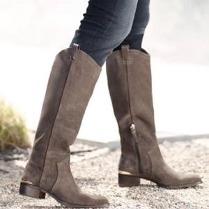 Louise et Cie 'Zada' Suede Tall Riding Boots